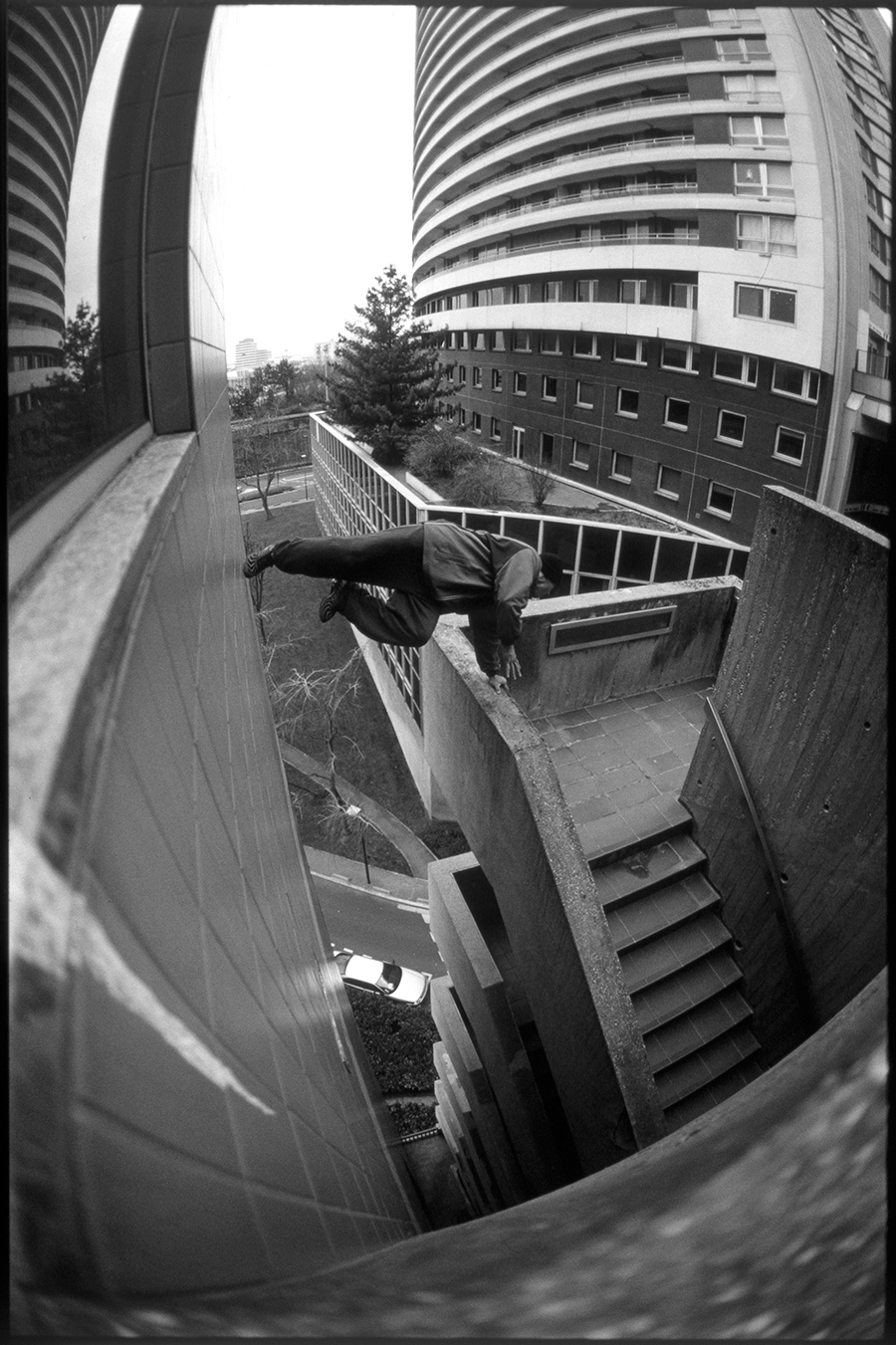 David Belle / La Défense